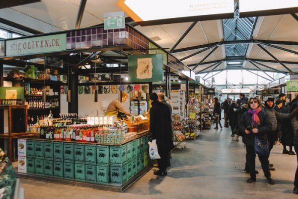 Ở Copenhagen có một khu chợ ẩm thực nổi tiếng trên thế giới mà bạn không nên bỏ lỡ