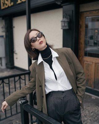 Phối đồ layer - áo blazer