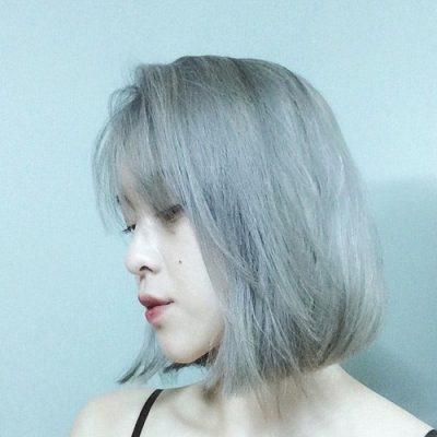 Màu tóc đẹp - màu xám khói
