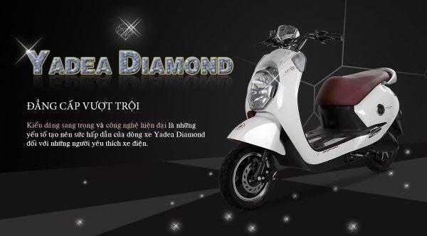 Xe máy điện Yadea Diamond (Trắng)