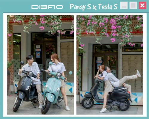 Xe máy điện Vespas Dibao Pansy S 2020