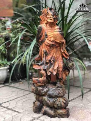 Tượng Tế Công gỗ Trắc